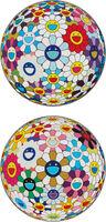 Takashi Murakami, 'Flower Ball (3-D) Autumn 2004; and  Flower Ball (3-D) Sequoia sempervirens', 2013