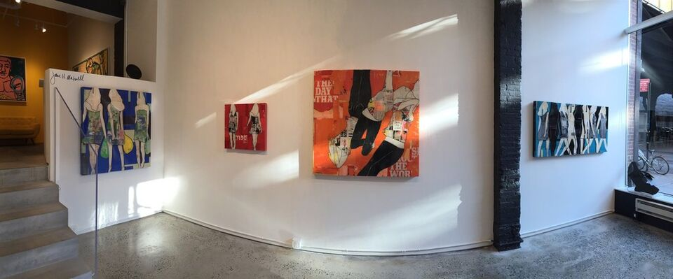 """""""Not So Plain Jane"""" Featuring Jane Maxwell, installation view"""