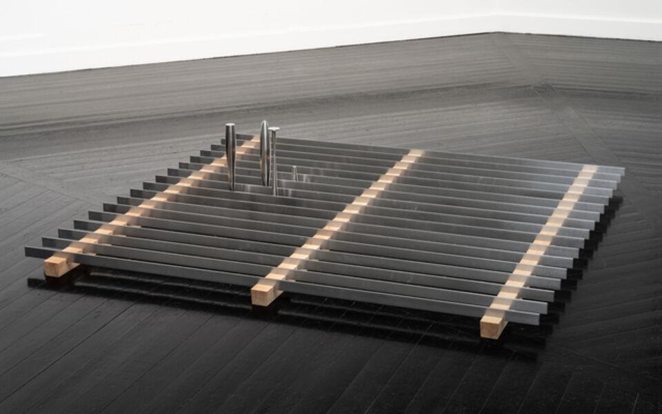 Lea Porsager, 'Pauli's Dream Bed Miniature Neutrino Horns on Hotbed', 2019
