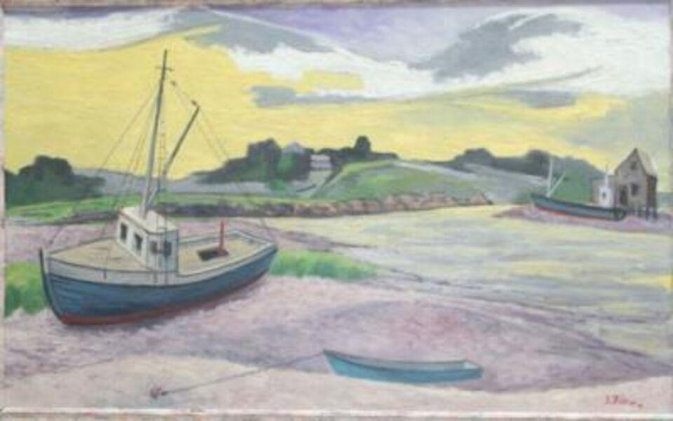 Ernest Fiene, 'Low Tide Cape Cod', ca. 1940