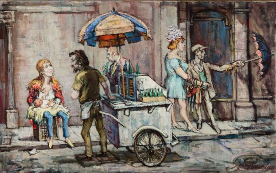 Philip Reisman, 'Untitled (New York City)', 1904-1992