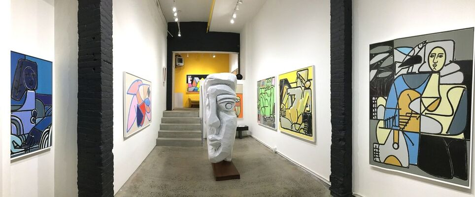"""THE NEW FIGURATIVE"" Featuring America Martin - New York, installation view"