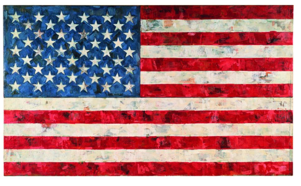 Jasper Johns, 'Flag', 1967