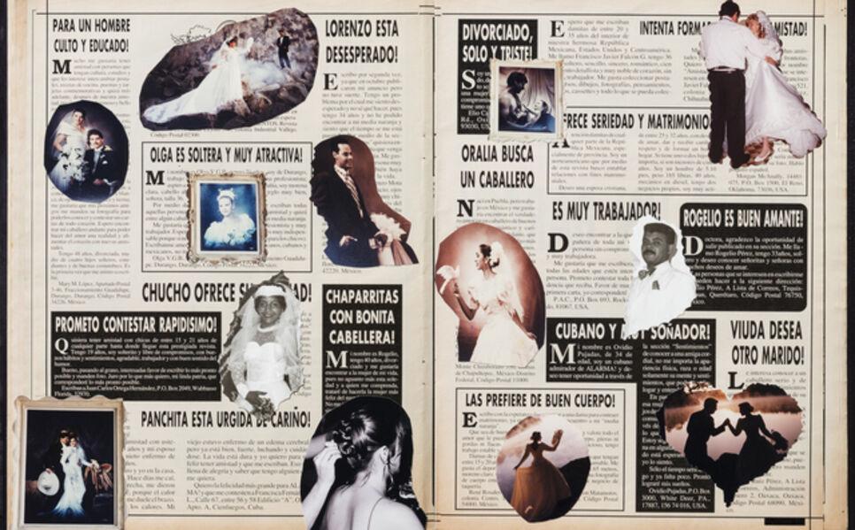 Rosângela Rennó, 'Sem título (Clasificados México)', 2017