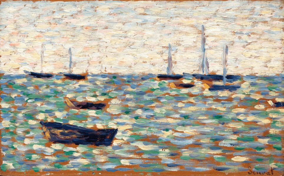 Georges Seurat, 'La Mer à Grandcamp', 1885
