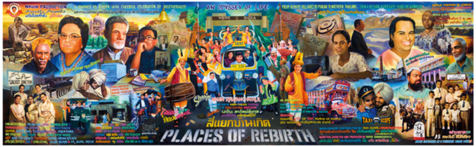 Navin Rawanchaikul, 'Places of Rebirth', 2009