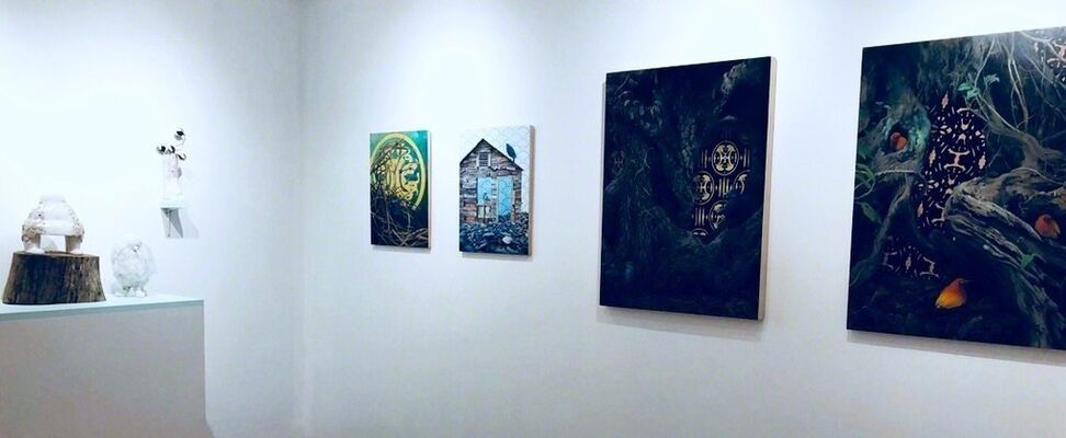 THE MOTHERSHIP, installation view