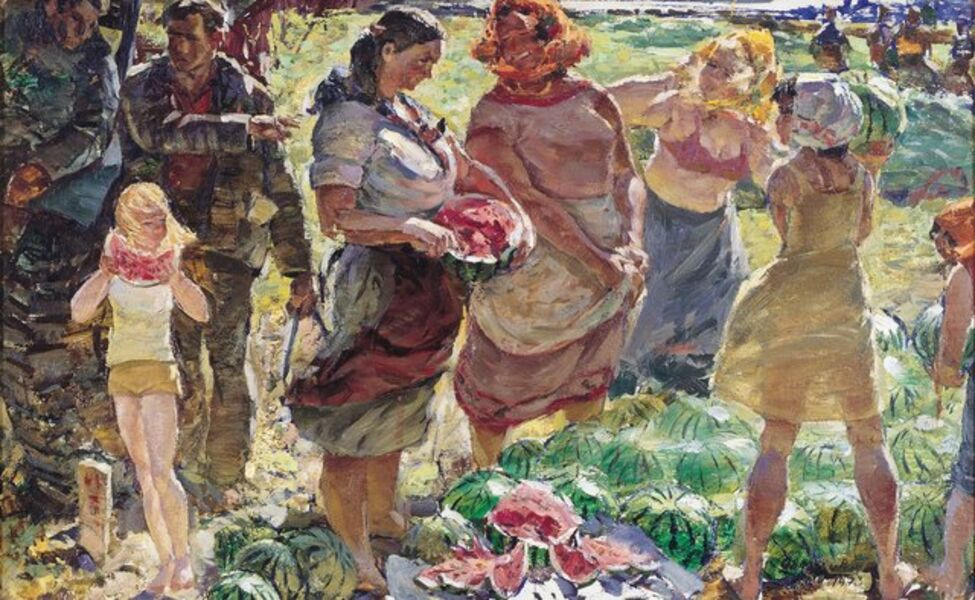 Viktor Petrovich Patrin, 'The watermelons orchard', 1973