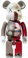 KAWS, 'DISSECTED COMPANION: 400% BE@RBRICK BROWN', 2010