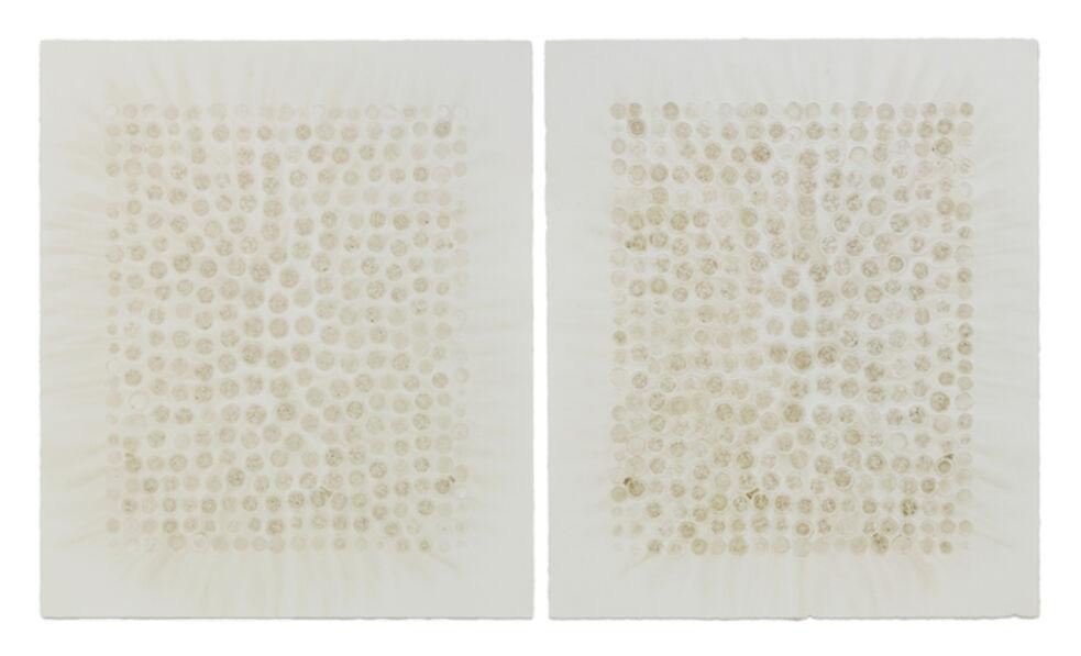 Haegue Yang, 'Vegetable Print - Eggplant Natural Decalcomanie #1', 2012