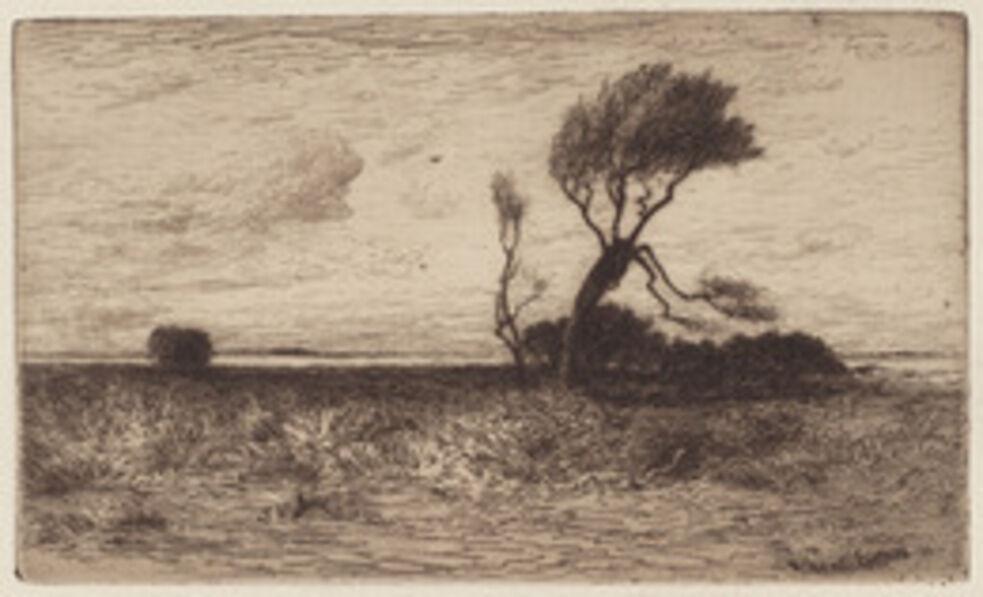 Robert Swain Gifford, 'Near the Coast', 1886