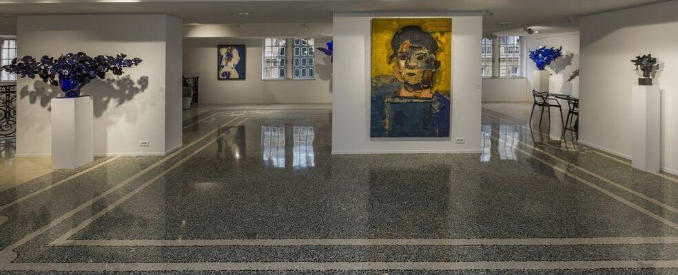 "Manolo Valdés, ""Los Géneros: Pintura e Escultura"", installation view"
