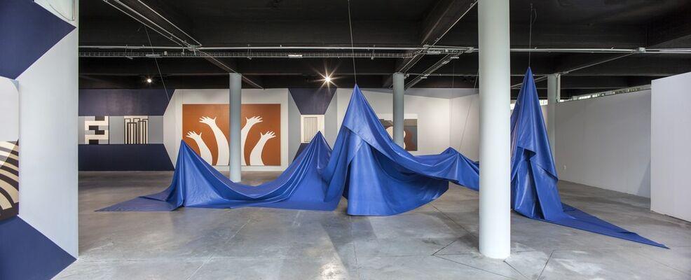 El camino del héroe: espectros y repeticiones by Leila Tschopp, installation view