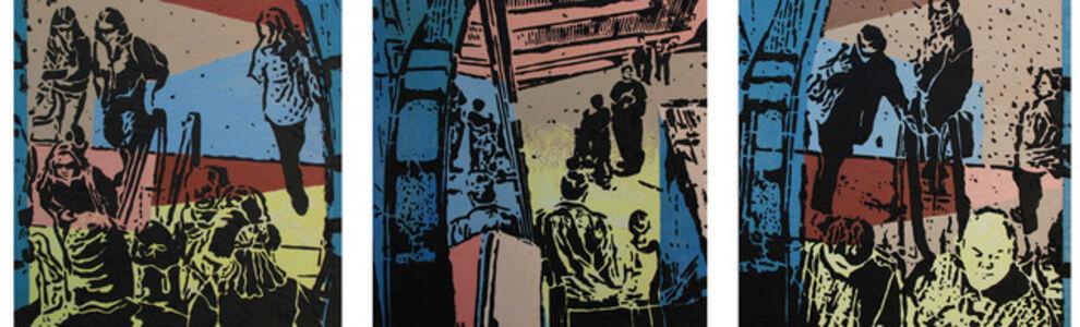 Lucinda Luvaas, 'Three Views of Passage', 2012
