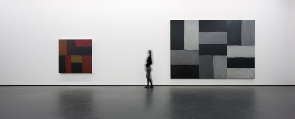 SEAN SCULLY, installation view