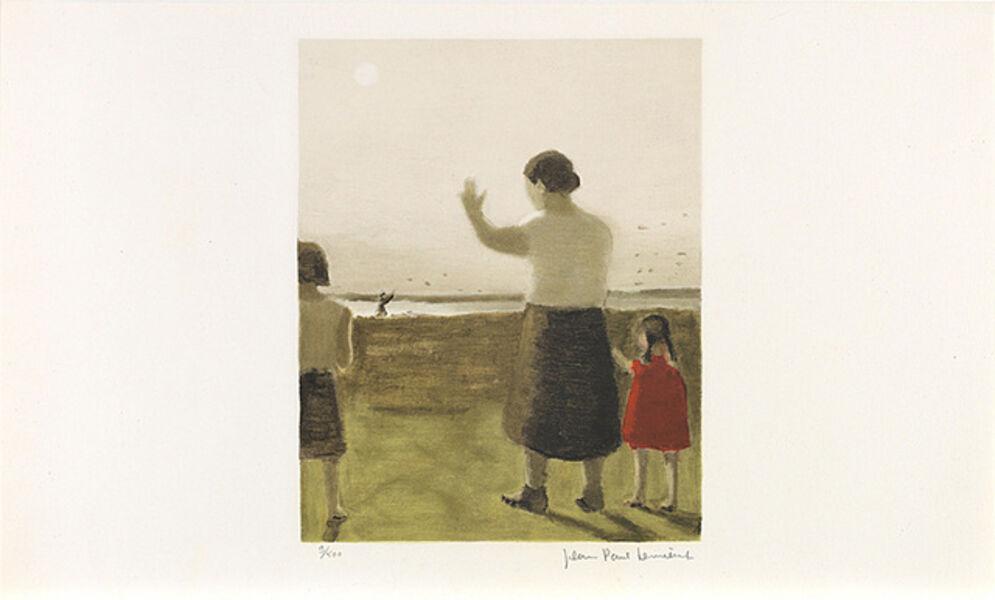 Jean Paul Lemieux, 'Sans titre (Au revoir)', 1971