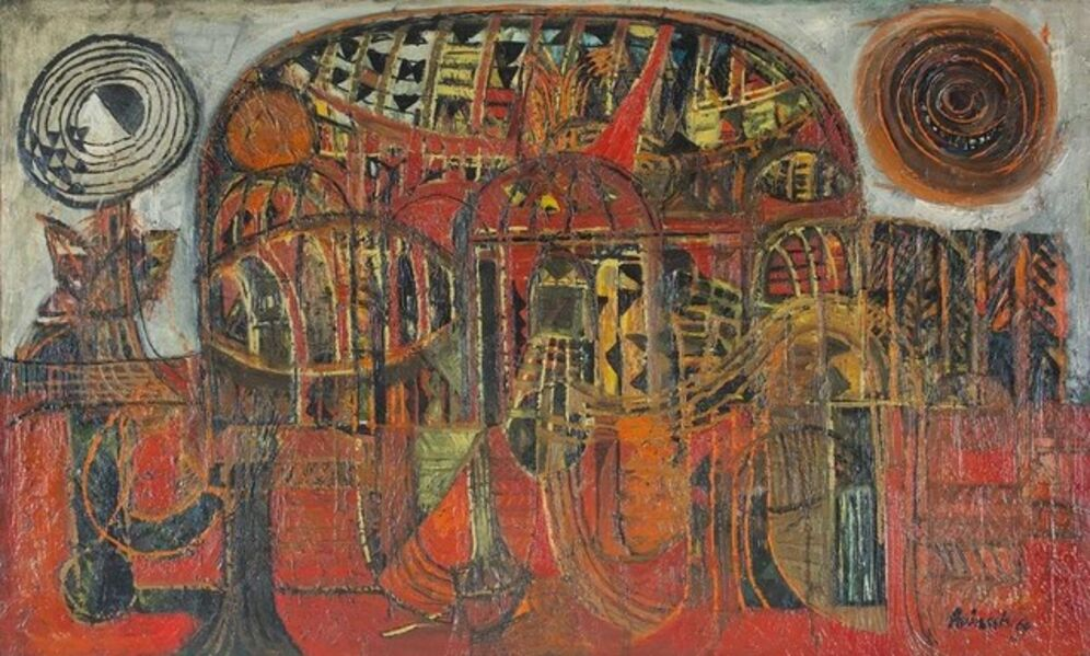 Avinash Chandra, 'UNTITLED', 1969
