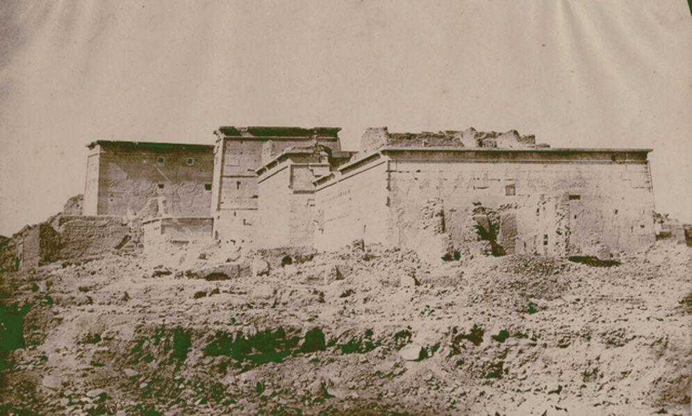Maxime Du Camp, 'Vue de Temple de Philoe prife par derrière, matin (Nubie)', 1850 / 1850c