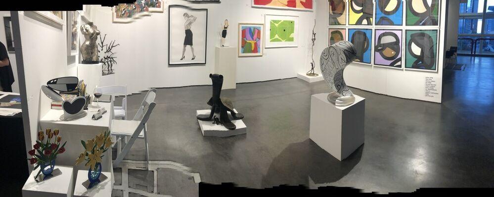 Adamar Fine Arts at Texas Contemporary 2019, installation view