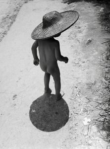 HONG-KONG. Refugee Child.
