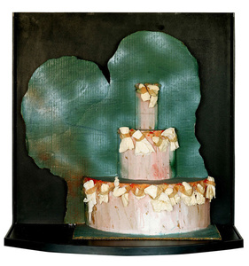 """Study for a Giant Cake, Commissionned by JackSmith for his Film """"The Great Pasty Triumph"""""""