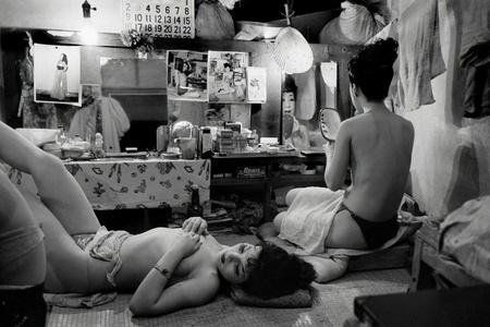 JAPAN. Tokyo. Striptease club.