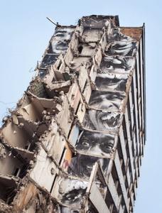 28 Millimeters, Portrait of a generation, B11, destruction #5, Montfermeil, France