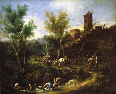 Landscape with Gypsies and Washerwomen