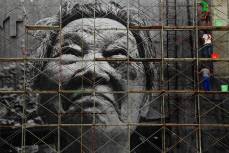 The Wrinkles of the City, Action in Shanghai - Shi Li, work in progress - China