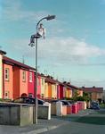 Doug DuBois, Jordan up the pole, Russell Heights, Ireland, 2010. Courtesy of Tarzipan Books.