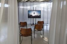 """Installation view of Luiz Roque, """"Ancestral,"""" 2016, at Centro Cultural São Paulo, São Paulo. Courtesy of Mendes Wood DM, São Paulo."""