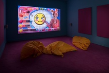 Rachel Maclean, Feed Me, 2015, British Art Show 8, Leeds Art Gallery, Photo Jonty Wilde, courtesy of the British Art Show.