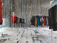 "Installation view of ""Ai Weiwei: Laundromat,"" 2016.Photo by Genevieve Hanson, courtesy of Jeffrey Deitch Inc. New York."