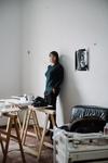 Shannon Bool in her Berlin studio by Wolfgang Stahr for Artsy.