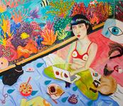 Alejandra Hernández,Fishy, 2016. Image courtesy of the artist andLaveronica Arte Contemporanea.