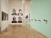 """Installation view of """"Electronic Superhighway (2016 – 1966),"""" at Whitechapel Gallery, London. Courtesy of the artist and Whitechapel Gallery. Photo: Stephen White"""