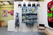 Zadie Xa's London studio. Photo by Kate Berry for Artsy.