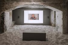 Installation view of work byJosh Kline at the Berlin Biennale. Courtesy of Josh Kline; 47 Canal, New York. Photo: Timo Ohler, Berlin Biennale