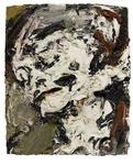 Frank Auerbach,Head of Gerda Boehm, 1965. Imagecourtesy of Sotheby's.