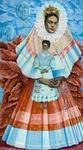 Shirley Gorelick, Frida Kahlo, 1976. Photo by Karen Mauch Photography. Courtesy of Rowan University Art Gallery, Gift of Jamie S. Gorelick © Shirley Gorelick Foundation