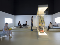 Installation view of the British Pavilion at the 15th International Architecture Exhibition - La Biennale di Venezia 2016. Photo courtesy of the British Pavilion.
