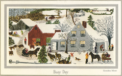 Courtesy of the Hallmark Archives and Grandma Moses.