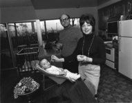 Bill Owens, We're really happy. Our kids are healthy, we eat good food, and we have a really nice home, 1971. Courtesy of Robert Koch Gallery.