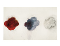 Cy Twombly, Fifty Days at Iliam Shades of Achilles, Patroclus and Hector, 1978. © courtesy of Philadelphia Museum of Art. Courtesy of Centre Pompidou.