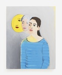 Becky Kolsrud, Double Portrait (Moon), 2016. Courtesy of JTT.