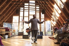 Theaster Gates, Sanctum, 2015. Photo by Max McClure, courtesy of Situations.