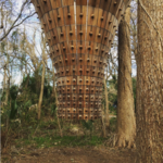 John Grade, Canopy Tower, 2015, at Laguna Gloria, Austin. Photo by @oaktown_grl, via Instagram.