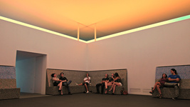 James Turrell's Twilight Epiphany at Rice University. Photo by camera_obscura, via Flickr.