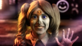 Rachel Maclean, Feed Me, Scene 12, video still, 2015. Courtesy of the British Art Show.