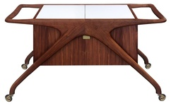 Iconic Serving Cart in Walnut